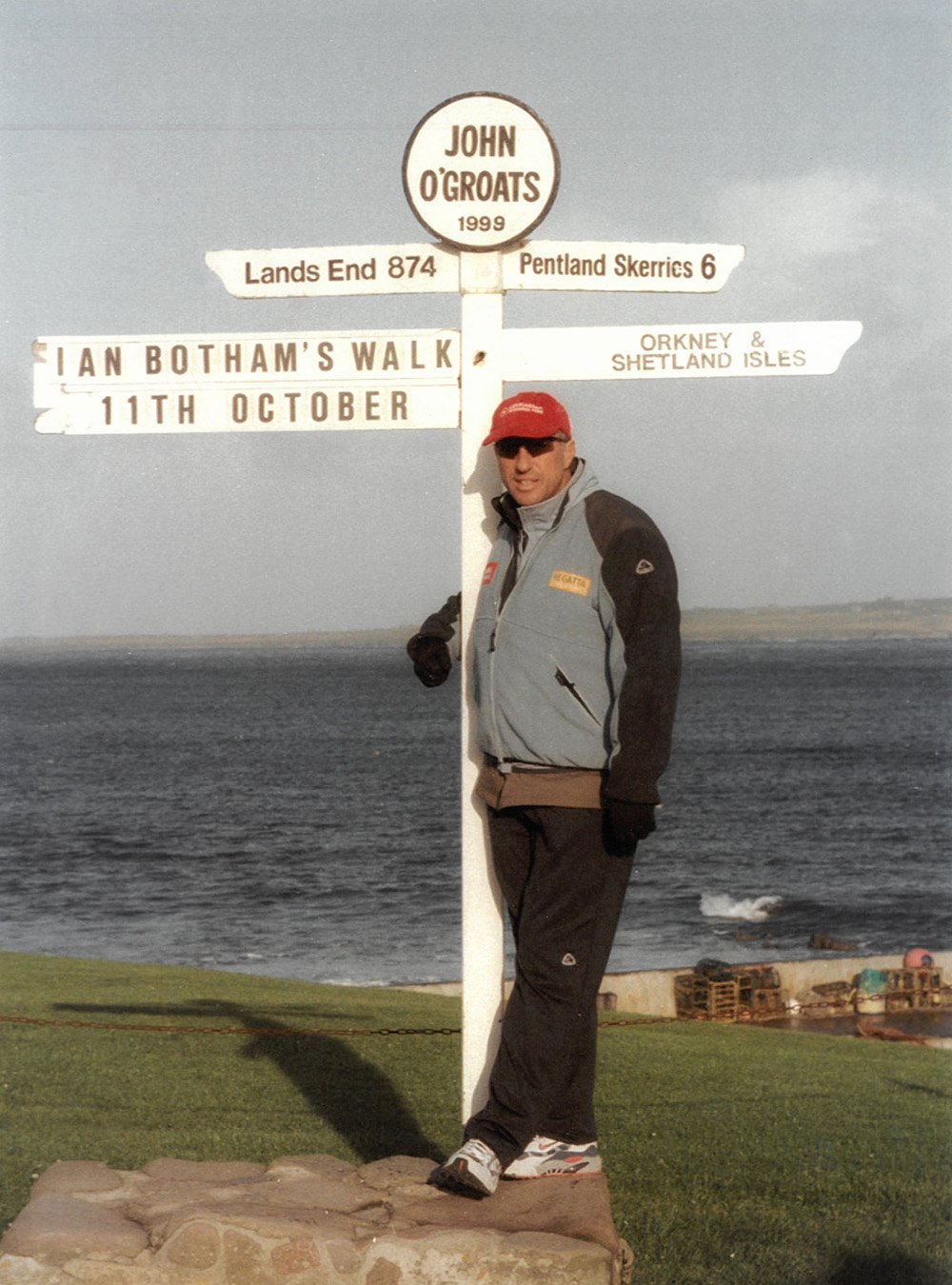 1999 - John O Groats to Lands End - 985 miles