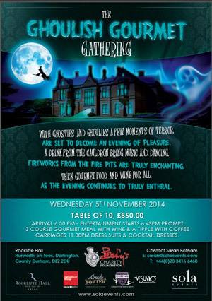 The Ghoulish Gourmet Gathering